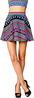 product image for JC Womens Versatile Mini Above Knee Flare Pleated Skater Skirt Made in USA