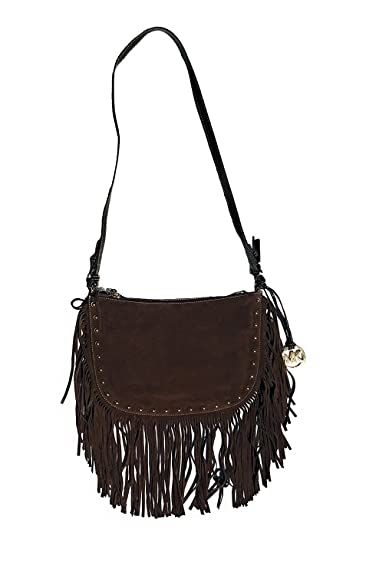 "a72d5cbe1dc670 MICHAEL Michael Kors Women's""Dakota"" Medium Saddle Bag ..."