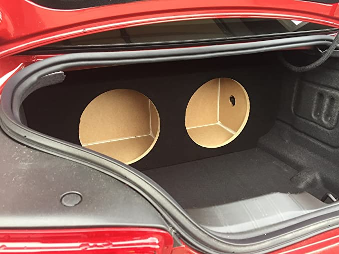 SoundBox Camaro 2016-2018 Dual 12 Subwoofer Enclosure Sub Box