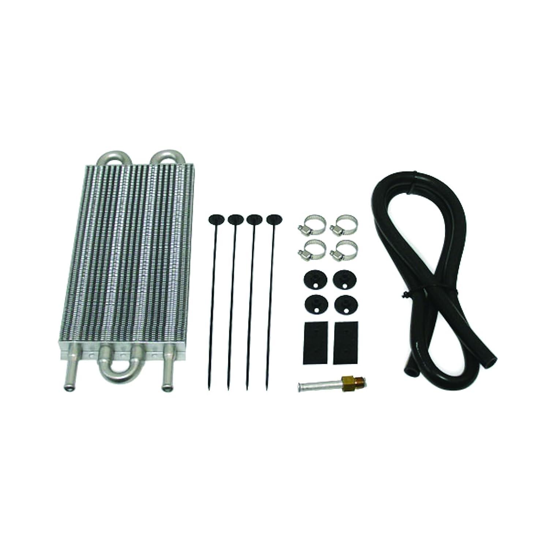 Mishimoto MMTC-U Universal Transmission/Power Steering Cooler, Silver