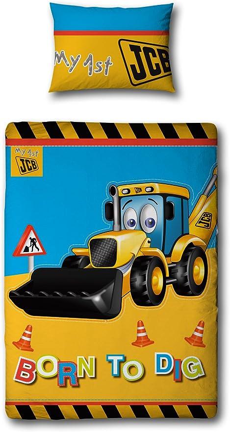 Tractor /& Truck Single Duvet Set Pillow Case Quilt Cover Car Boys Bedding ds1