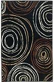 Ashley Furniture Signature Design - Suri Rug - 4x7 Area Rug - Contemporary - Black & White Swirl Design