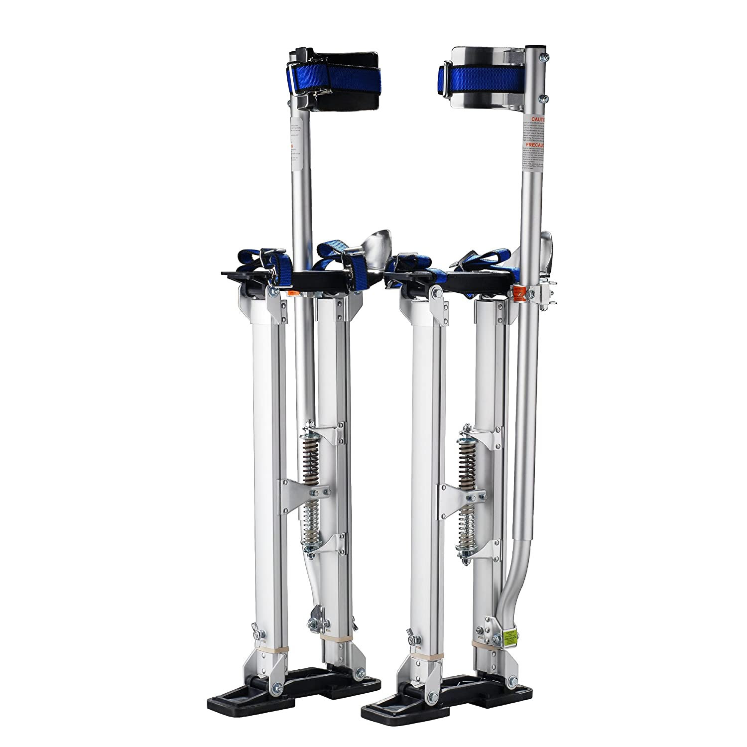 Image of Drywall Lifts Pentagon Tool Professional 18'-30' Silver Drywall Stilts Highest Quality