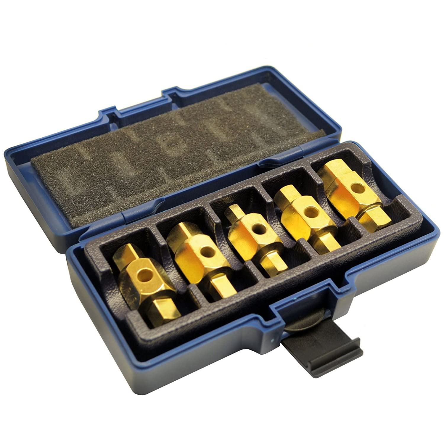 Supercrazy 16pcs Damaged Glow Plug Removal Remover Tool Kit 8mm /& 10mm SF0031