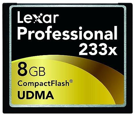 Lexar 8GB Professional 233x CompactFlash Card Memoria Flash ...