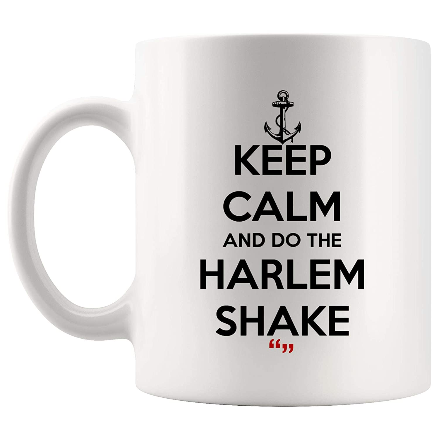 4e4e2926408 Amazon.com: Do Harlem Shake Dilute Drinks Coffee Cup Funny Mug | Coworker  Office Mugs Work Gifts Sarcasm Beer Sarcastic Quotes: Kitchen & Dining