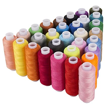 Amazon Sewing Thread Assortment Coil 40 Colors 40 Yards Each Awesome Polyester Thread For Sewing Machine