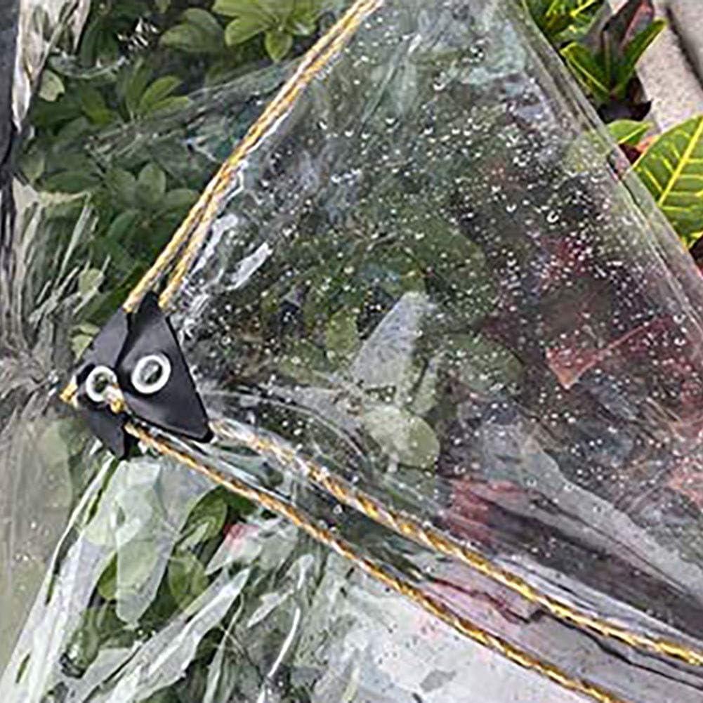 B/âche Transparent /étanche avec /Œillets r/ésistant /à la d/échirure Coupe-Vent B/âches for Jardin//Usine Succulentes//Fen/être//Balcon