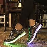 KEVENI Kids Boys Girls Light up Shoes Lace up