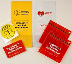 StoreSMART - Emergency Medical Information Variety Pack - Personal Variety Pack - YDOTVOL-PVP