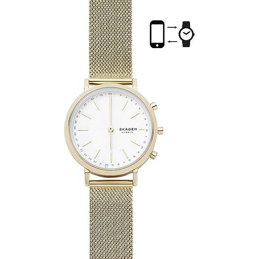 Skagen Reloj Analogico para Mujer de Cuarzo con Correa en Acero Inoxidable SKT1405: Amazon.es: Relojes