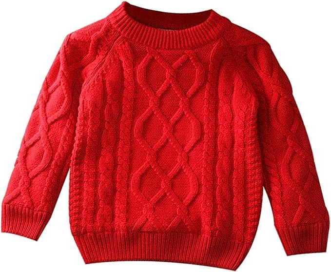 KIMJUN Toddler Baby Girls Cardigan Sweater Kid Heart Cable Knit Button Down Sweatshirt Autumn 1-5t