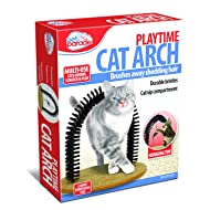 Pet Parade Playtime Cat Arch - Helps Prevent Hairballs & Controls Shedding