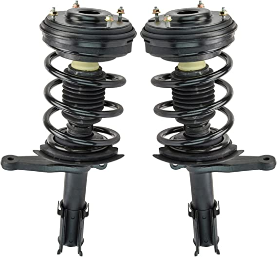 TRQ Complete Front Strut Spring Assembly Pair Set for Intrepid Concorde 300M LHS