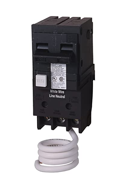 Sie QF220 20-Amp 2 Pole 240-Volt Ground Fault Circuit ... on ground fault relay wiring diagram, ground fault indicator wiring diagram, ground fault interrupter circuit breaker, arc fault wiring diagram, ground fault interrupter cable, ground fault breaker wiring diagram,