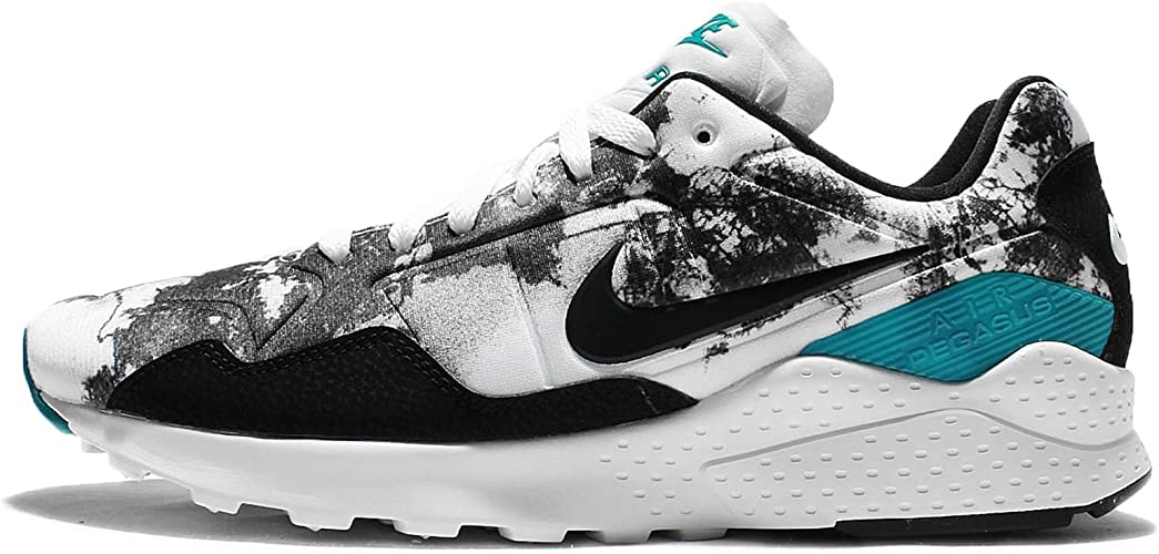 Prescripción Piquete Inspeccionar  Nike AIR Zoom Pegasus 92 - Trainers, Men, White - (White/Black-Rio  Teal-Black), 47: Amazon.co.uk: Shoes & Bags