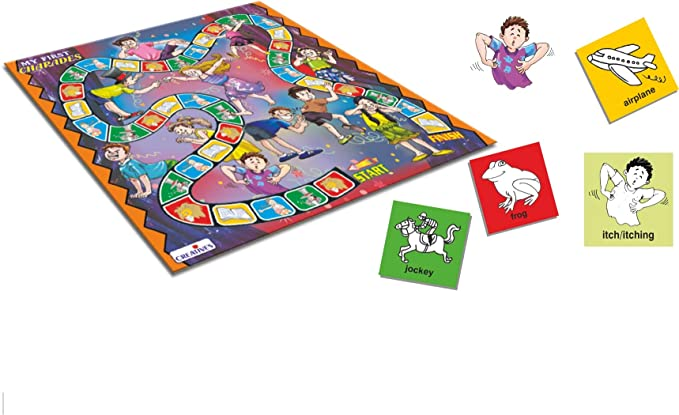 Board Games Toys & Games Creative Educational Creative Games My First Charades