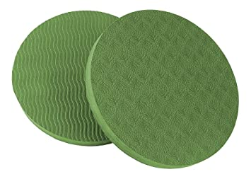 Amazon.com: DHmart 6 Colors Eco Yoga Circle Mats Workout ...