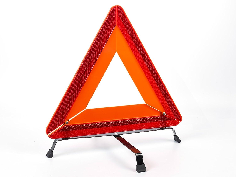 reflektierendes Warn-Pannen-Dreieck zugelassen nach StVZO und EU vom Sachsen Versand