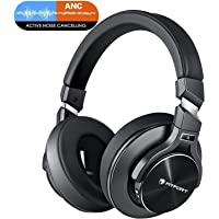 Bluetooth Wireless Kopfhörer Extra Bass Noise Cancelling - HiFi Stereo Drahtlose Headset Over Ear mit Mikro Lautstärkeregler für alle Geräte mit Bluetooth oder 3,5 mm Klinkenstecker