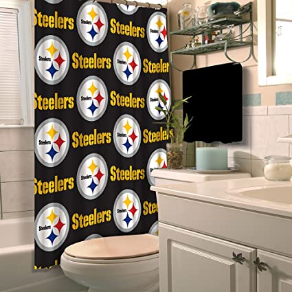 Image Unavailable Not Available For Color The Northwest Company Pittsburgh Steelers Shower Curtain
