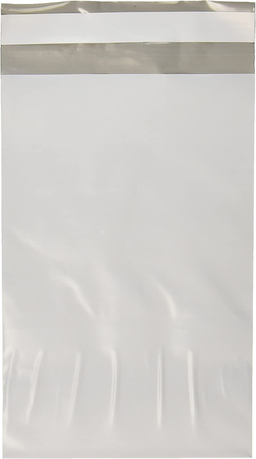 9527 Product Poly Mailers 6x9 Envelopes Shipping Bags Self Sealing 100 Bags,White