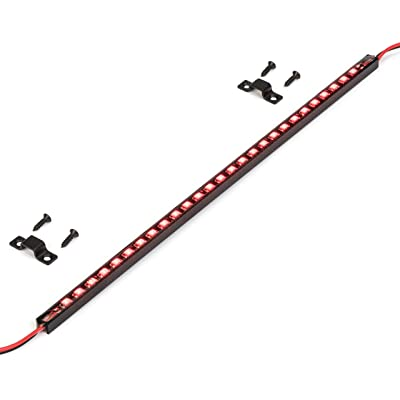 Oznium Ultra Thin LED Light Bar - Red: Automotive
