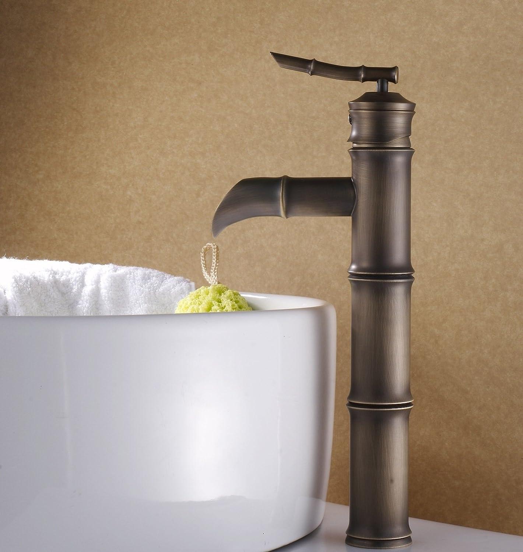 Ddlli Badezimmer-Armaturen für Küchenspülen-Hahn-Duschhahn-F6Brass-Armaturen hob seine kontinentalen atmosphärischen Waschbecken-Hähne an
