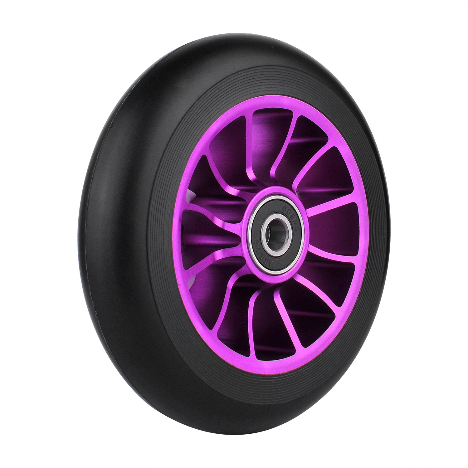 110mm Pro Scooter Wheel with Abec 9 Bearings Fit for MGP/Razor/Lucky Pro Scooters
