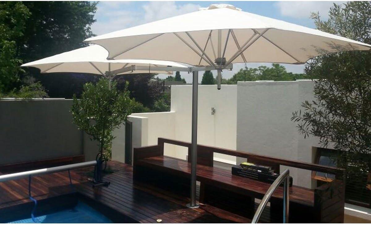 UMBROSA Sombrilla de diseño Paralflex Duoflex: Amazon.es: Jardín