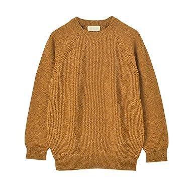 Soglia Lerwick Sweater: Mustard