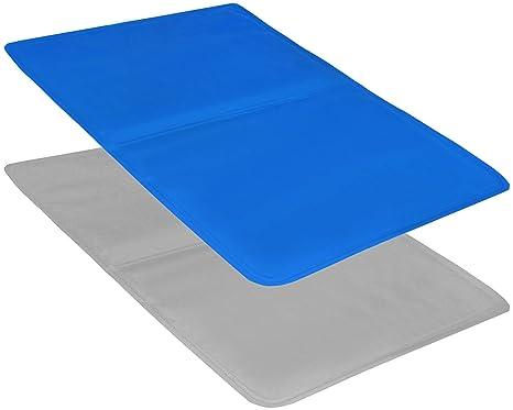 com-four® 2X cojín de Gel para Dormir cómodamente, tapete de enfriamiento Multifuncional con Gel de enfriamiento - Inserto de cojín para la Almohada - ...