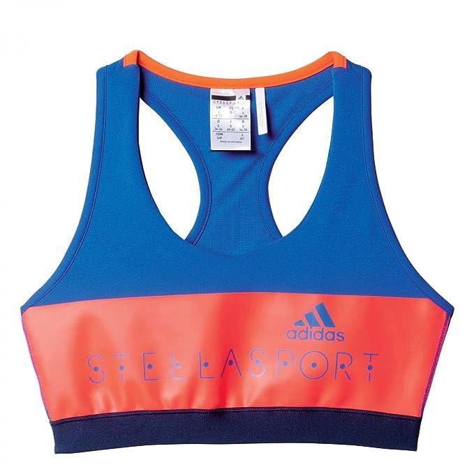 adidas Sport BH Padded Stella Sport, Mujer, color Bold Blue, tamaño 40