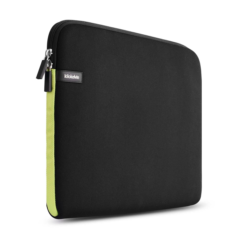 kilokelvin 14.1 Pulgadas Funda Protectora para Portá tiles/Funda para Portá til/Funda de Neopreno Portatil/Funda Portá til para Acer/ASUS/DELL/Fujitsu/Lenovo/HP/Samsung/Sony Toshiba(Azul Oscuro)