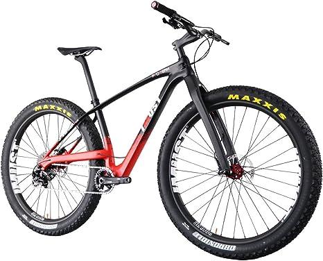 IMUST-Bicicleta de carbono para MTB/Montaña Xtreme 9+ para Bicicleta 29+ er Peso ultraligero/Carbon MTB/Mountain Bike 29 Plus: Amazon.es: Deportes y aire libre