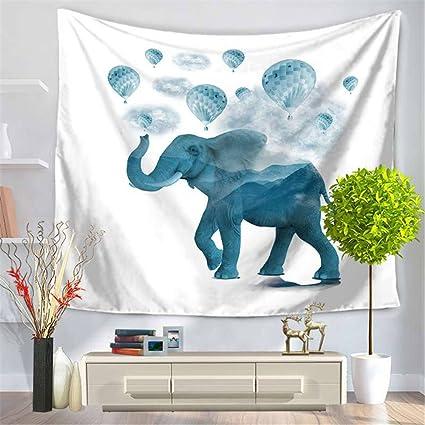 Impresión Digital de rectángulo moderno tapiz,Moda Toalla de Playa de elefantes,COJÍN Mantel