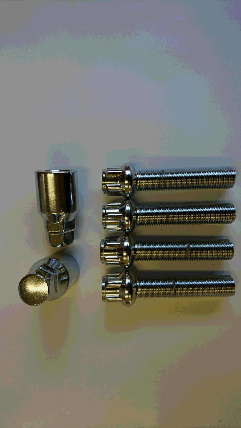 メッキロックボルト R14 14x1.5 首下25mm~60mm 1mm単位で選択可能 B076WQZZCL