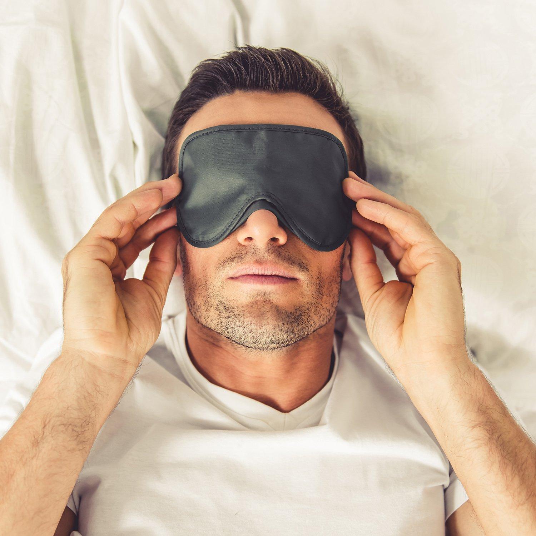 Aneco 30/pezzi colorato Eye Mask cover Shade Blindfold Eye Shade cover morbida con naso Pad per viaggi di sonno o party supplies 15/colori