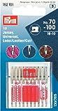 Assortiment d'aiguilles pour machine à coudre de 130/705jersey, universel, cuir