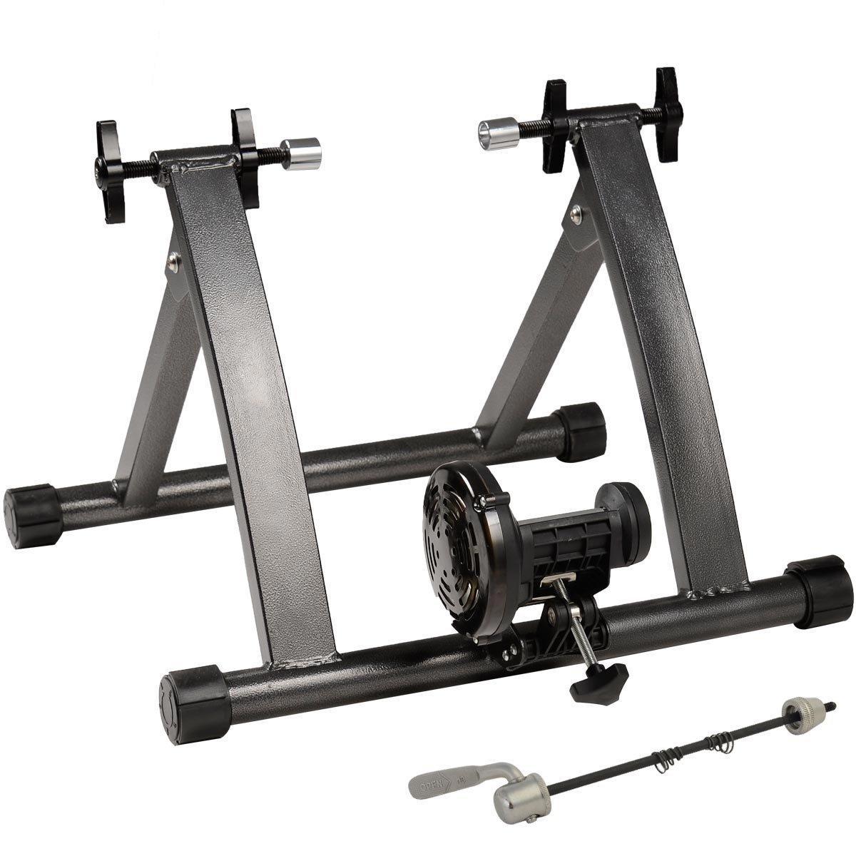Goplus Bike Trainer Magnet Steel Indoor Bicycle Exercise Stand