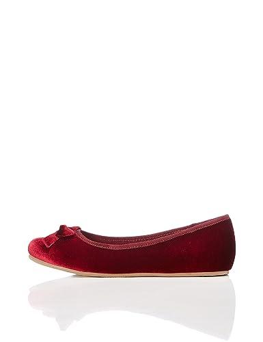 RED WAGON Mädchen Sneaker mit Schleife, Rot (Berry), 32 EU
