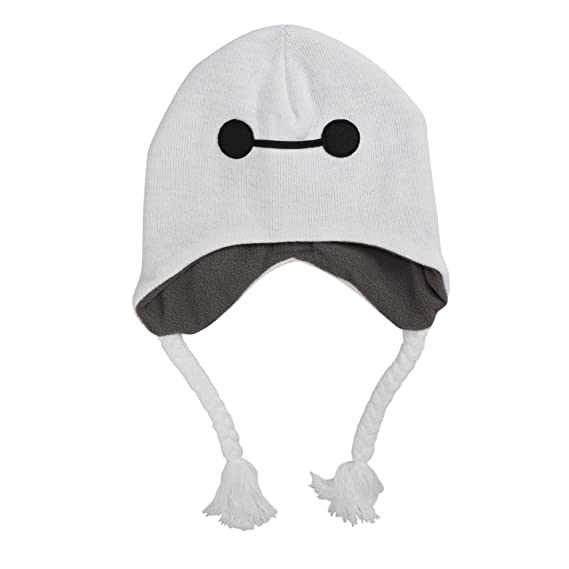 ff18c397100 Big Hero 6 Baymax Kids Knit Hat  Amazon.co.uk  Clothing