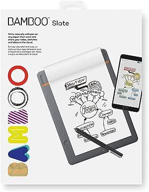 Wacom CDS610S Bamboo Folio Smartpad Digital Notebook