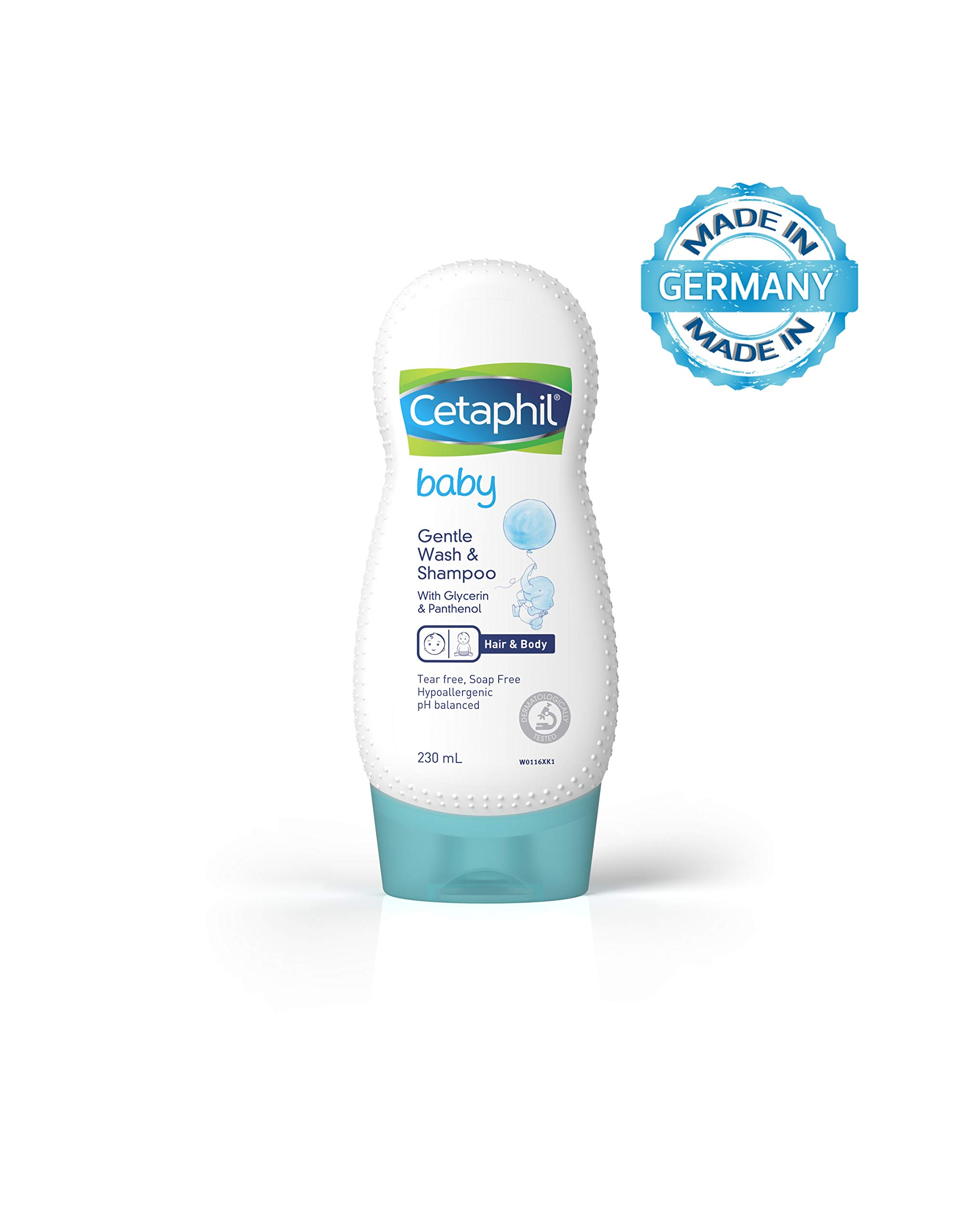 Cetaphil Baby Shampoo and Wash, 230 ml