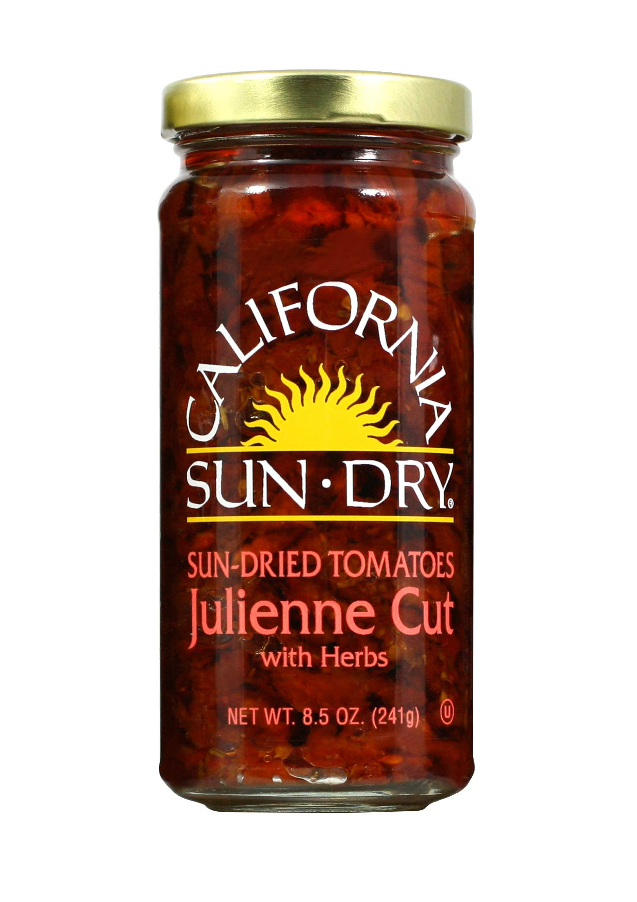 California Sun Dry Julienne Cut Tomatoes, 8.5 Ounce (Pack of 12) by California Sun-Dried