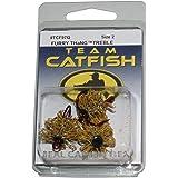 Team Catfish TCF97Q2 Mini Furry Thang 2 Hooks, Yellow, Size-2