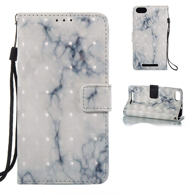 Amazon.com: Phone Case for Wiko Lenny 3 3D Stone Granite PU ...