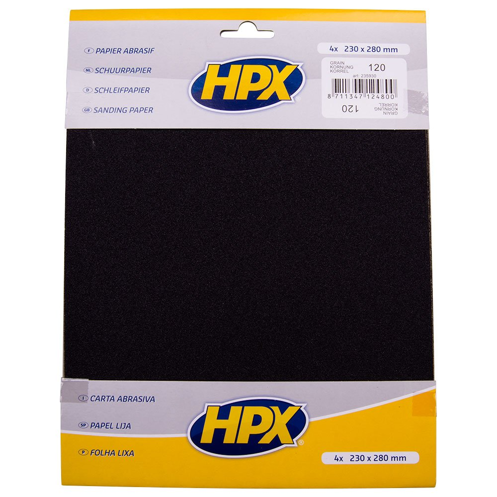 HPX 235931 P180 Pack de 4 Papiers abrasifs M235931