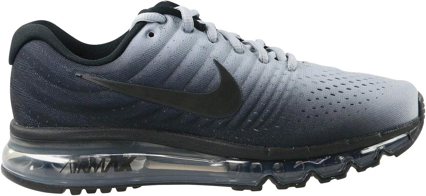 Nike Air MAX 2017 Bg, Zapatillas de Running para Hombre, Multicolor (Black/Black-Wolf Grey 001), 38.5 EU: Amazon.es: Zapatos y complementos