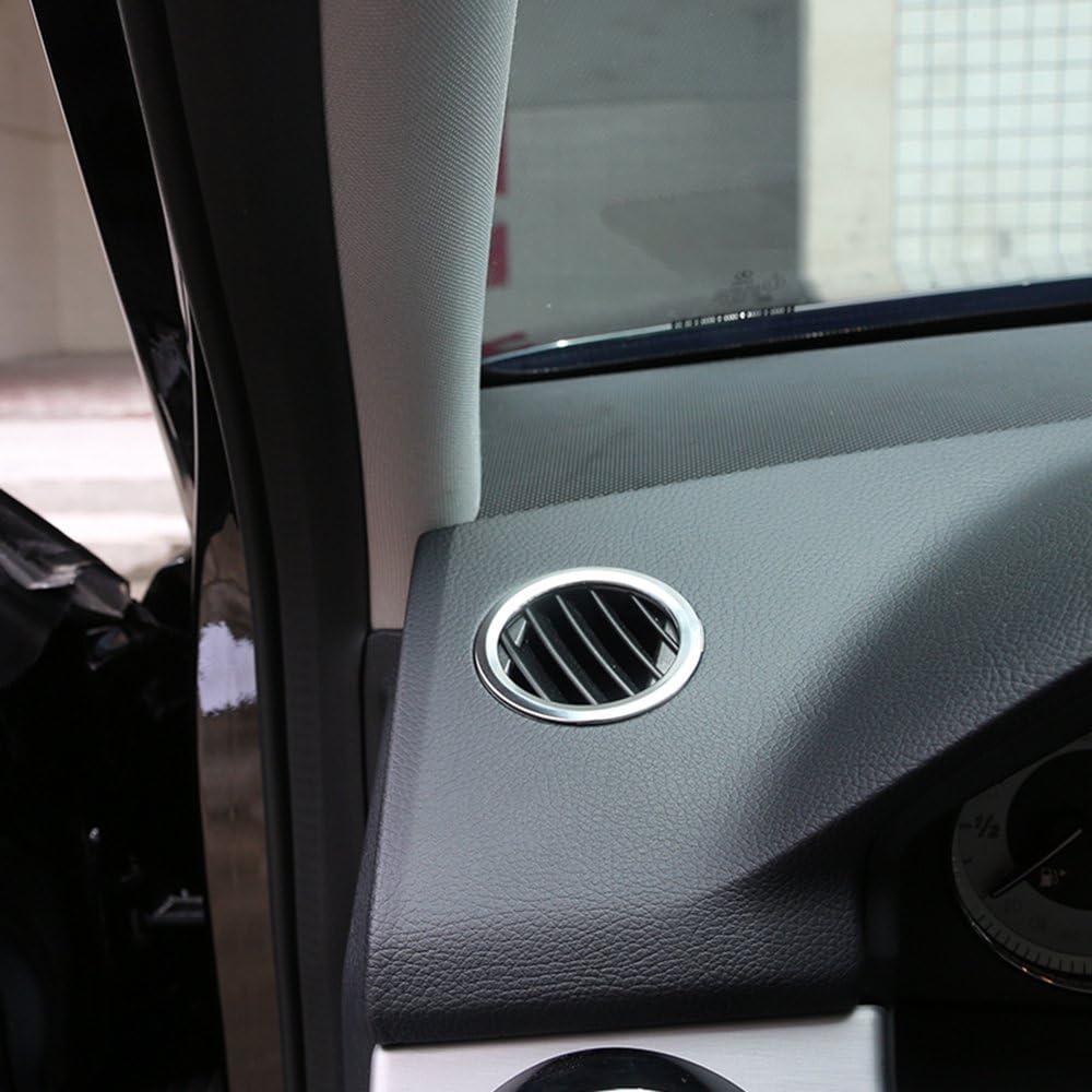 Steering Wheel Ring-5cm Car Steering Wheel Ring Cover Trim for Mercedes Benz CLA GLK A Class W204 W246 W176 W117 Red